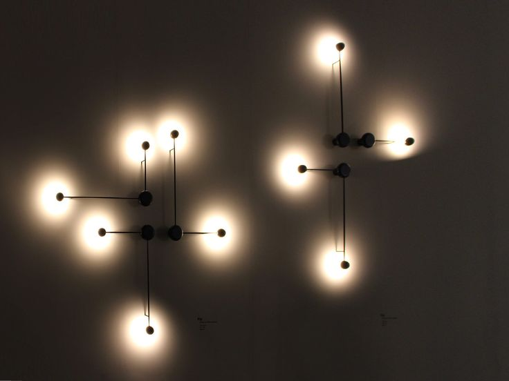 Decorative wall lighting by Vibia
