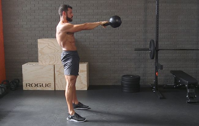 The Fat-Frying Kettlebell Workout from Hell | Kettlebell ...