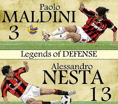 Legends of Defense in Italy and in the world