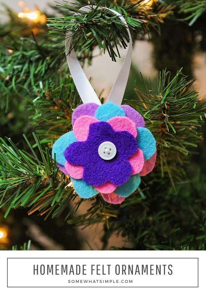 How To Make Felt Ornaments From Diy Felt Christmas Ornaments