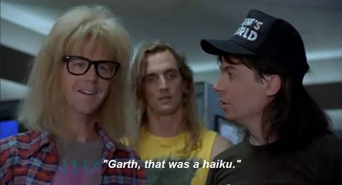 And poetic. | Why Garth Algar Is The Perfect Man