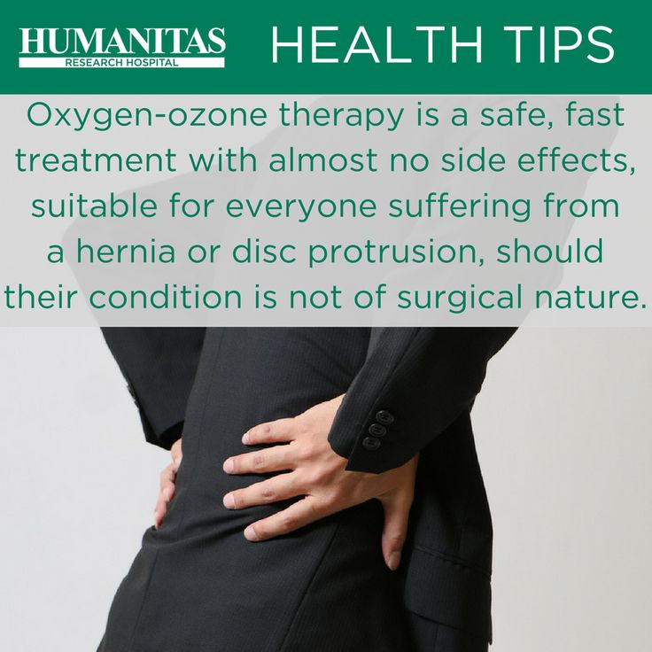 Ozone therapy, or more correctly oxygen-ozone therapy, is an anti-inflammatory and pain relieving treatment. The benefits of this treatment on pain relieving are noticeable, in the majority of cases, after 15-30 days.
