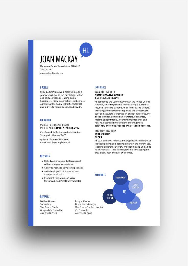 57 best Hot CV Designs images on Pinterest Hot, Design resume - resume site