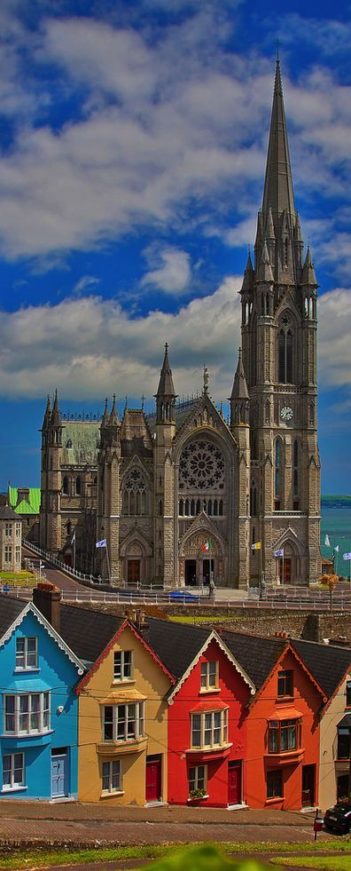 St Colman's Cathedral, Cobh, County Cork, Ireland Get more travel inspiration and tips for visiting Ireland at http://www.holidaystoeurope.com.au/home/resources/destination-articles/ireland