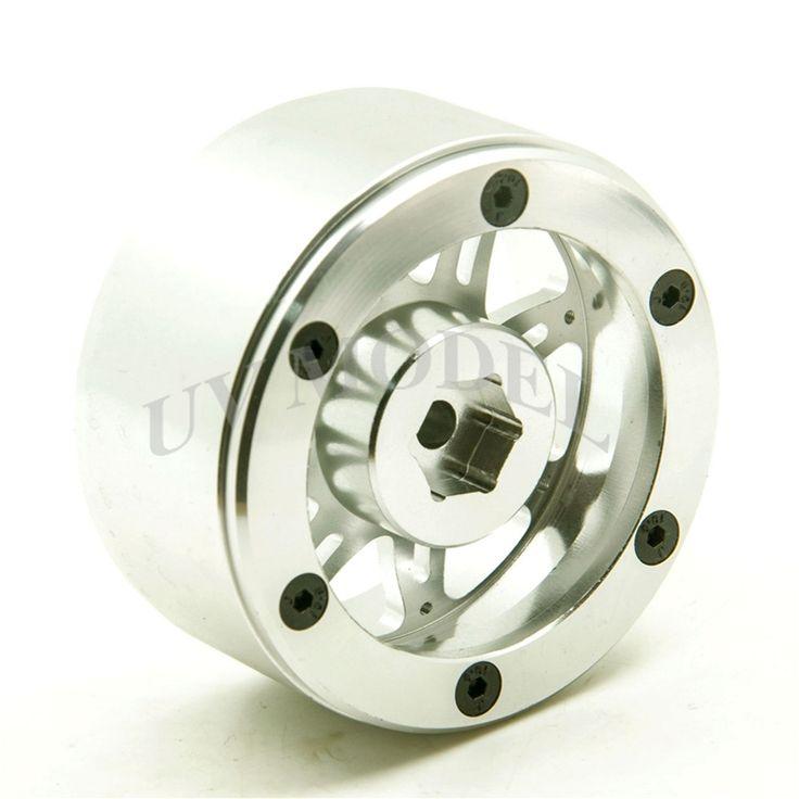 1/10 2.2inch Alloy beadlock wheels rims for Rock Crawler RC WRAITH Off Road-1pcs #Affiliate