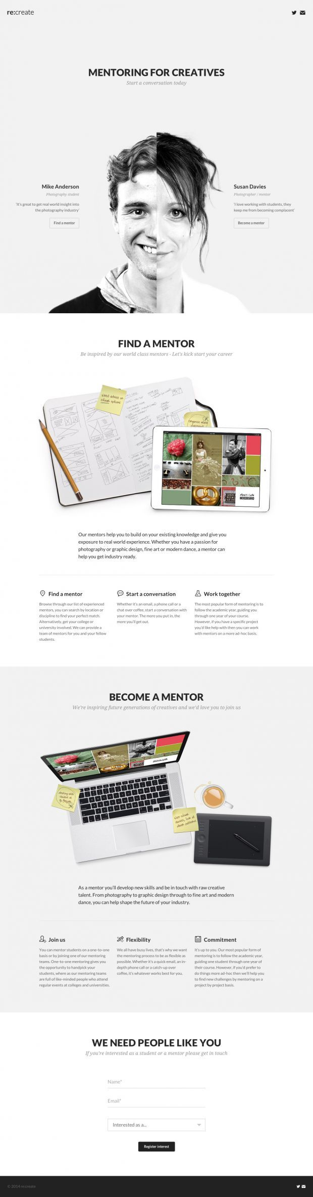 Mentoring for Creatives - www.niceoneilike.com - #portfolio #html5 #responsive #design #creative #graphic #inspiration #scrolling #site #photography