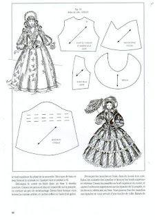 The music of the rain: Instead of the promised dolls - yet dresses for dolls with patterns ...