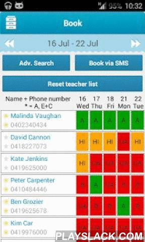 Class Cover 2.0  Android App - playslack.com , Welcome to the totally rebuilt for Android, Class Cover app. If you are a user of the original application, please delete that, download this one and login using your existing Class Cover details.NOTE: You need an account on www.ClassCover.com.au to use this application. Casual Teachers: Keeping your availability updated is now a faster and easier process! * Simply login only once and then land directly at your availability diary, select the…