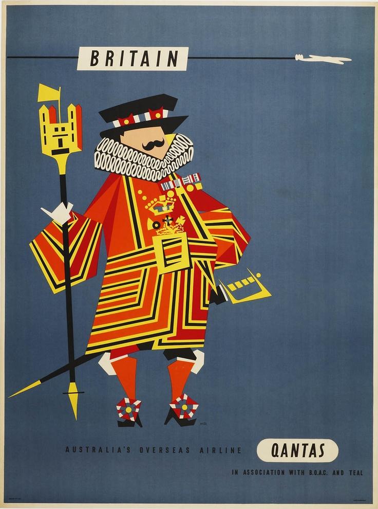 Britain by Qantas c1955: Qanta C1955, Qanta Travel, Travel Photo, Overseas Airlines, Travel Tips, Qantas Poster, Australia Overseas, Travel Posters, Vintage Travel Poster