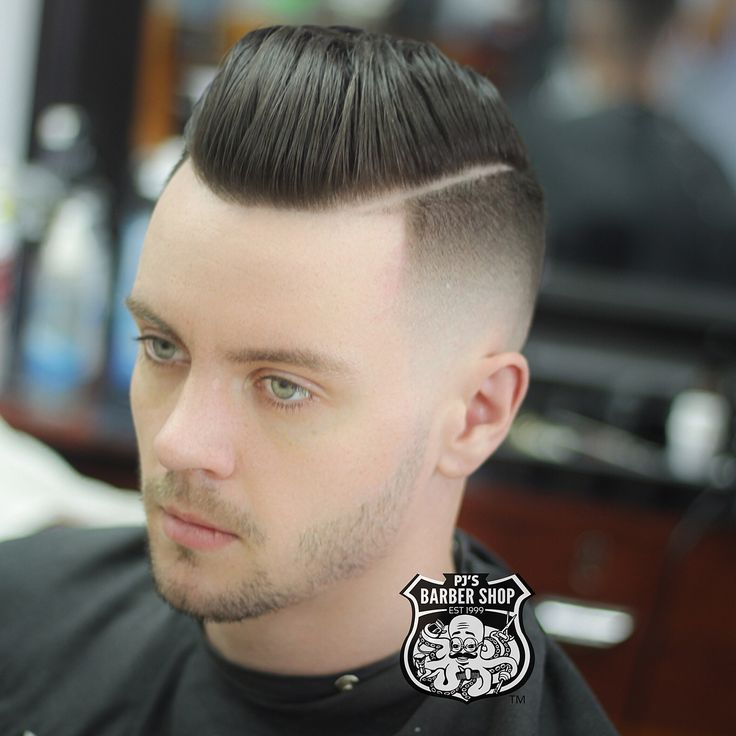 Fresh combover fade mens haircuts