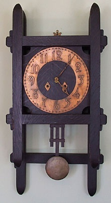 1000 images about arts crafts on pinterest craftsman for Arts and crafts style wall clock