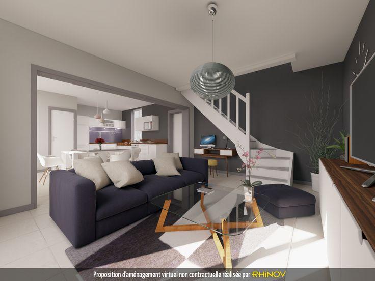 Projet pour la mise en vente d\u0027une maison rue de Melin au Creusot