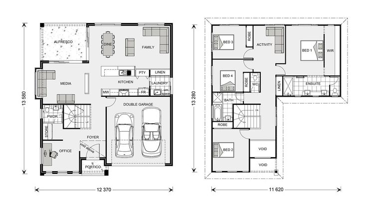 Blue Water 323 - Element, Our Designs, Sunshine Coast South Builder, GJ Gardner Homes Sunshine Coast South
