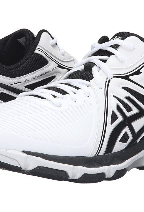 ASICS GEL-Netburner Ballistic MT (White/Black/Silver) Men's Volleyball Shoes - ASICS, GEL-Netburner Ballistic MT, B508Y.0190, Footwear Athletic Volleyball, Volleyball, Athletic, Footwear, Shoes, Gift, - Fashion Ideas To Inspire