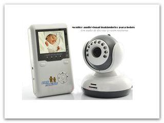 Monitor audiovisual inalámbrico para bebe — PromoNovedad