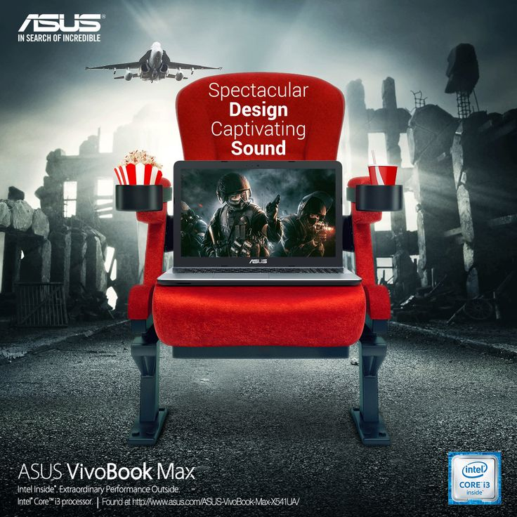 ASUS Notebook Ad