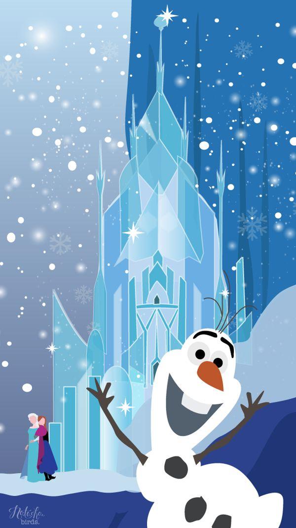 Cred Natasha Birds Pretty Minimalistic Frozen Wallpaper