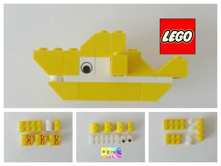 how to build a lego shark instructions