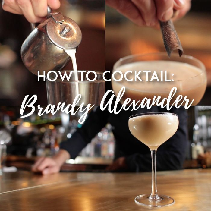 VIDEO: Learn how to make a Brandy Alexander, a classic cocktail that's perfect as a romantic dessert, too.