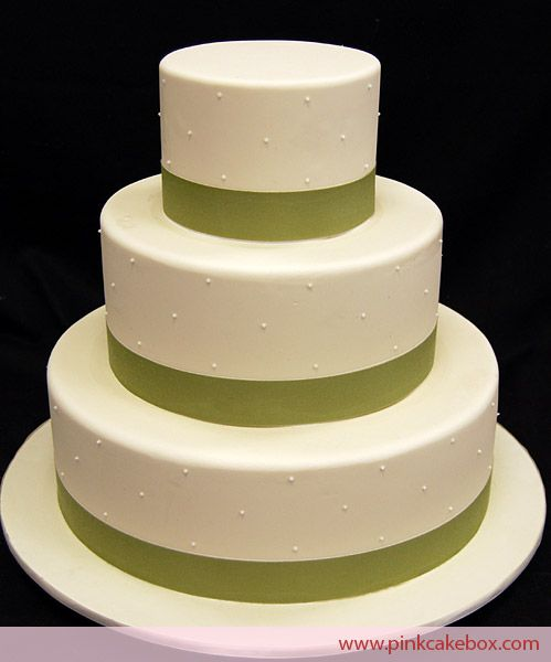 how to make 3 tiered wedding cake 3 tier swiss dot ribbon wedding cake 187 wedding cakes 15763
