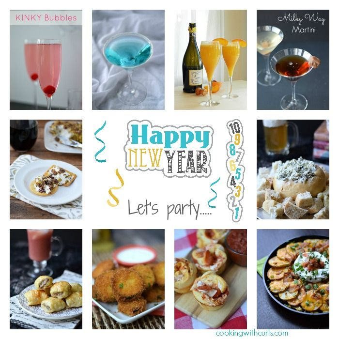 Happy New Year Collage | cookingwithcurls.com #2014