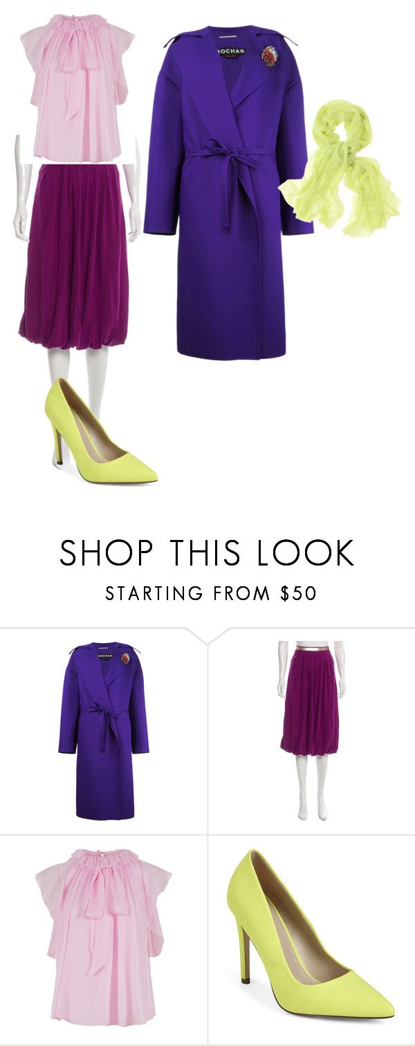 """""""цвет1"""" by sdelanodoma on Polyvore featuring Rochas, La Perla, Temperley London, Call it SPRING and Chico's"""