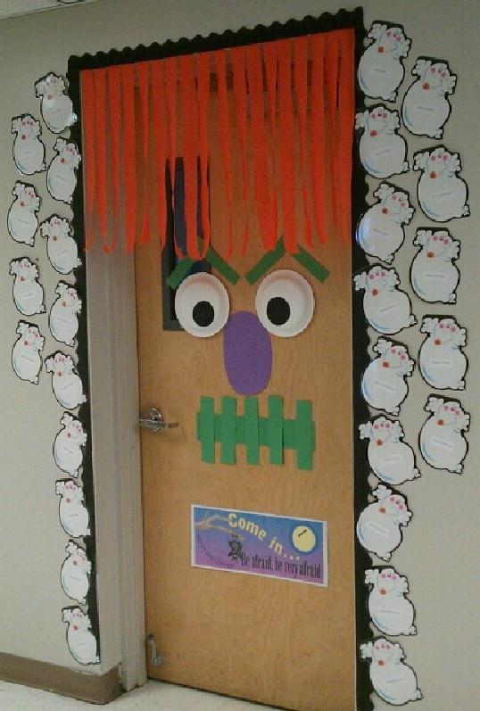 preschool halloween door decorations 28 best doors for trick or treat 370