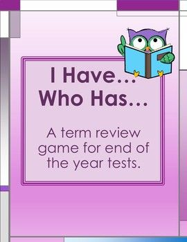 Thank you for purchasing this activity! I know your students will enjoy this review as much as my students do. I will share how I play this game in my classroom. Please feel free to use the game any way that best fits your classroom and students. No prep is needed for
