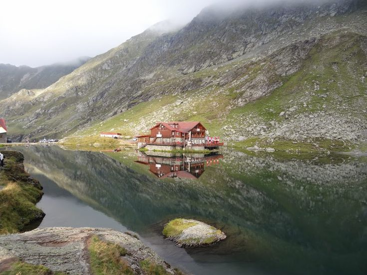 Balea lake in the Romanian Carpathians... what an amazing place
