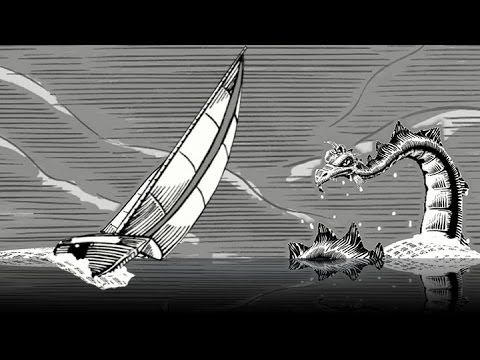 Mainstay. Fast paced, cinematic and an overall visual treat that illustrates the timeless message of the Up...Down...Up, of the financial marketplace. This elegant, black and white, woodcut style combines traditional cel animation with unique techniques in 3D.  Little Fluffy Clouds creative director, Jerry van de Beek, not only created, modeled, textured and animated the piece but also wrote a specific coded digital program, DIANA.