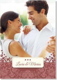 Invitatie nunta Marsala