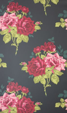 ~ Rose Alba Wallpaper ~ Peoni Home - Surround Yourself with Style