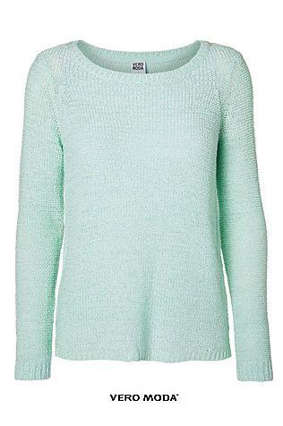 Chandail menthe VERO MODA seulement 29$ !!!!  #mint #veromoda   http://boutiquevickie.com/produit/chandail-vero-moda/457/244157