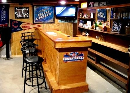 Someday I Want A Sports Themed Home Bar Play