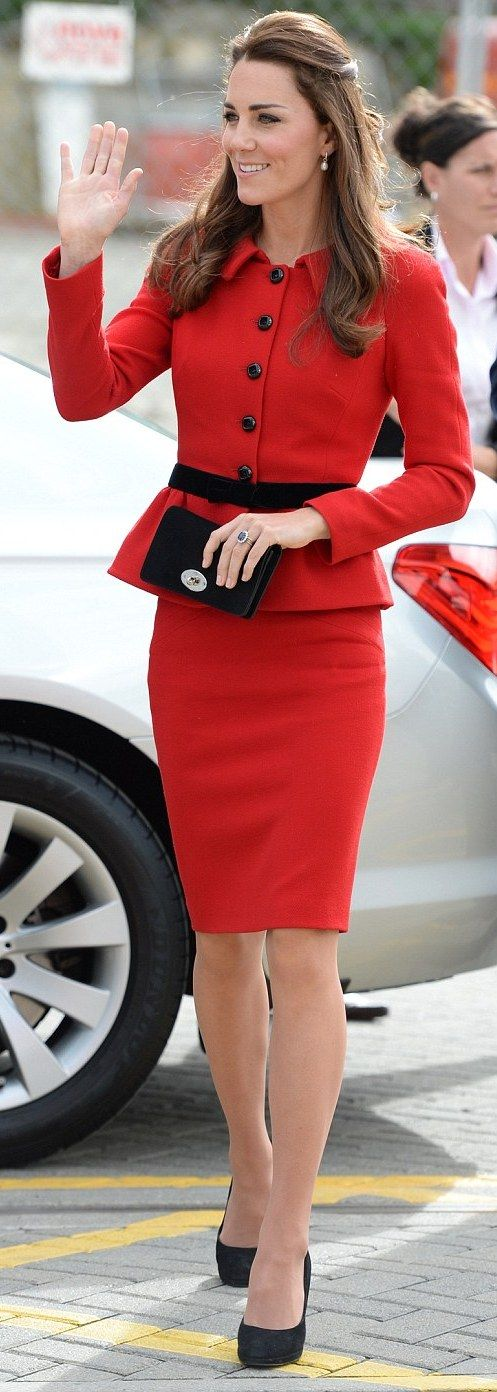 Kate Middleton na Nova Zelândia (12/04/14)