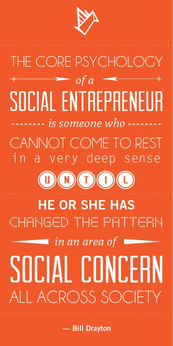 how to change the world social entrepreneurs