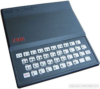 Sinclair  ZX 81  	    The Sinclair ZX 81 was the successor of the ZX 80, and can be regarded as an evolution of it.    The ZX80 could not handle floating point numbers or cassette data files, but the ZX-81 could. The ZX-80 had 4k ROM : the ZX-81 had 8K ROM with 30 additional functions and some instructions to drive the printer. Thanks to a higher level of integrations (the total number of chips in the basic system was 4, against the ZX80's 21), the ZX-81 cost 」30 less than the ZX-80.