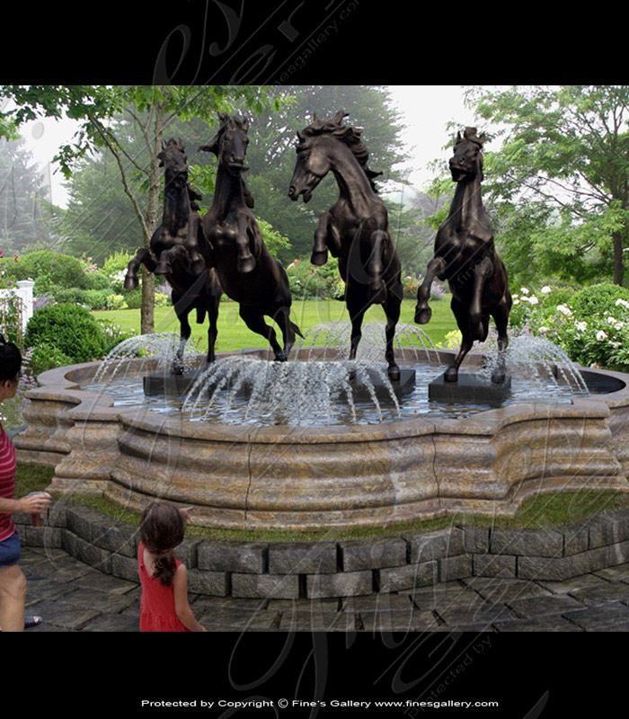 Statuary Marble Fountains | Monumental Fountains | Grand Fountains | Custom Grand and Monumental