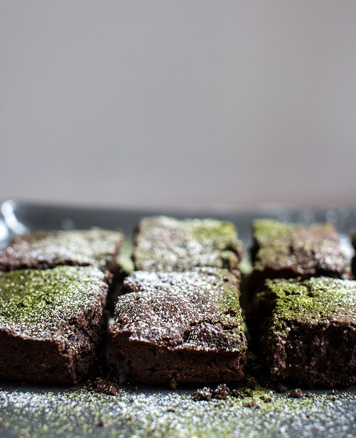 matcha brownies   what's cooking good looking