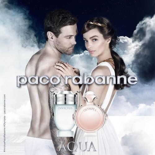 Paco Rabanne   Novidade de Verão   #paco #rabane #perfume #ele #InvictusAqua #ela #OlympeaAqua