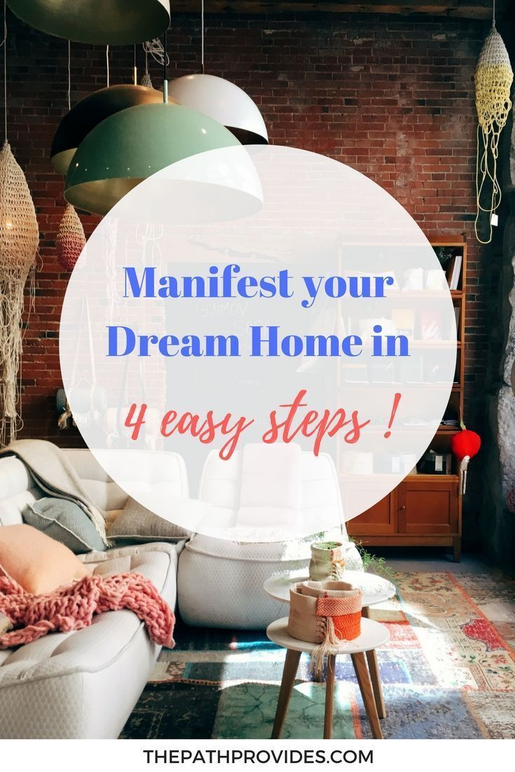 How I used the Law of Attraction to manifest a new home