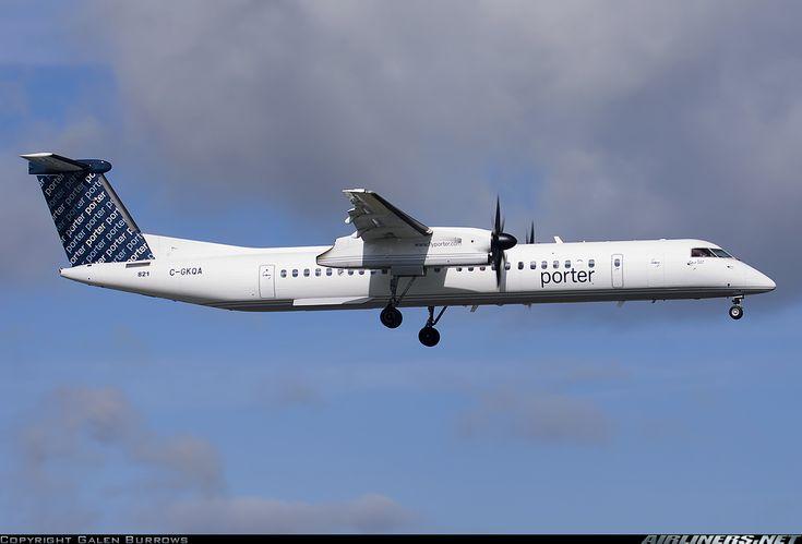 Porter Airlines C-GKQA De Havilland Canada DHC-8-402Q Dash 8 aircraft picture
