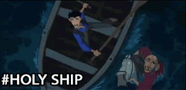 """When you're trying not to curse around your family: 