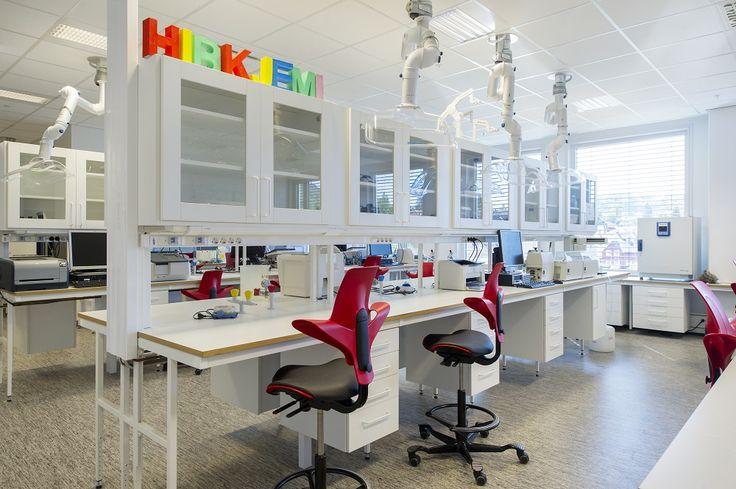 Bergen University collab with HÅG Capisco Puls #InspireGreatWork #education #design #Scandinavian
