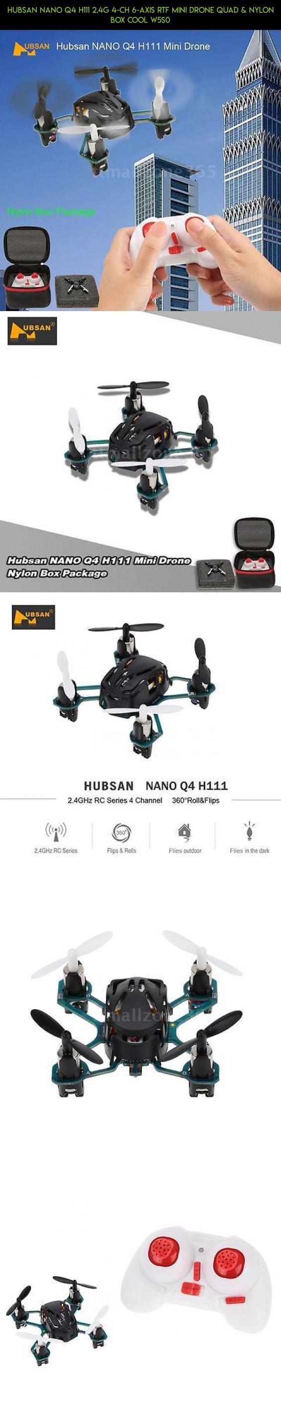 Hubsan NANO Q4 H111 2.4G 4-CH 6-Axis RTF Mini Drone Quad & Nylon Box Cool W5S0 #drone #technology #parts #plans #products #camera #racing #drone #tech #fpv #kit #gadgets #shopping #mini #hubsan