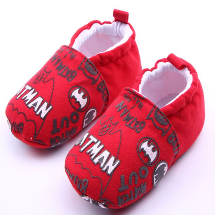 >> Click to Buy << Newborn baby boys and girls 0-15 months Red batman series can not afford to learn to walk shoes cotton shoes first walk xz43 #Affiliate