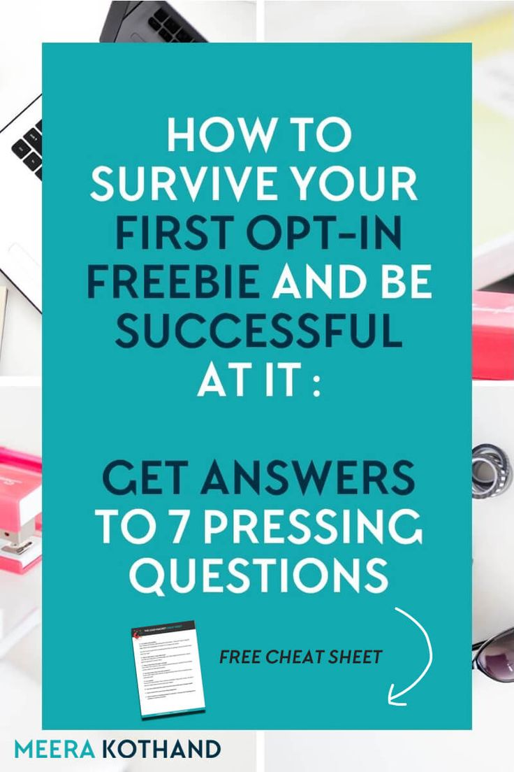 Are you in the midst of creating your first opt-in freebie? Looking for ideas to create something that will grow your list and help you monetize your blog? Click to get answers to 7 burning opt-in freebie questions that every blogger has had at one point or the other and nail your next freebie. The free cheat sheet will help you create a freebie your audience will subscribe to and love.