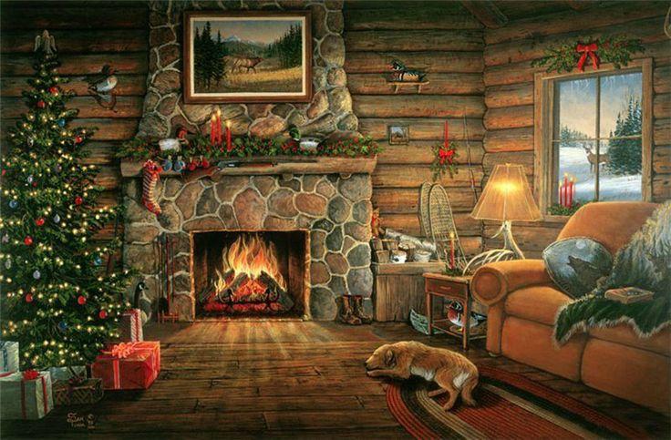 Fireside Cheer  --  Artist Sam Timm