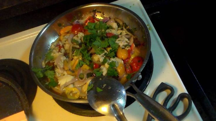 Cooking Codfish Stew