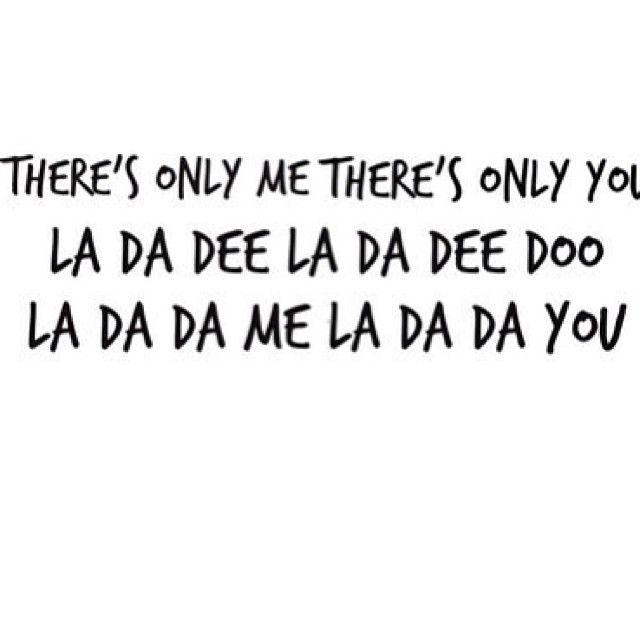 La da dee by Cody Simpson